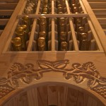 Wine Cellar Builders Hand Carved Arch