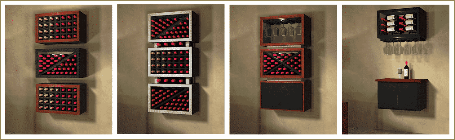 modular wine rack kit 1