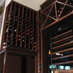 Commercial Custom Wine Cellars Chicago - The Girl & the Goat Left