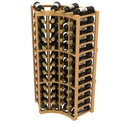 Wine Rack - Curved Corner