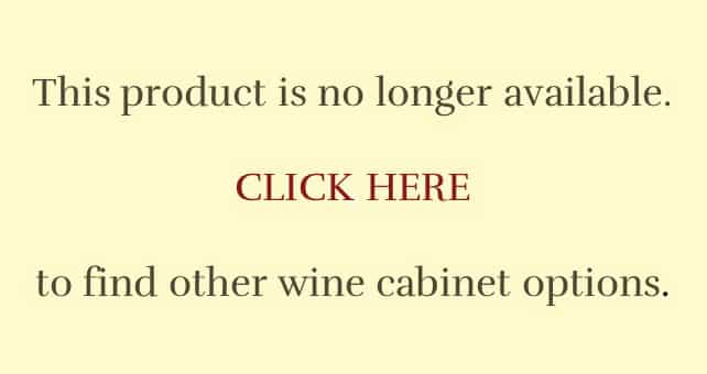 Discontinued Wine Cabinets