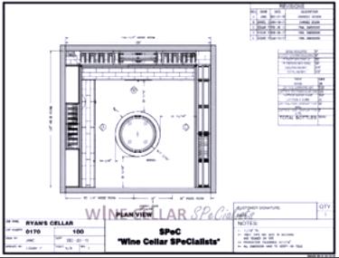 3D Wine Cellar Design - Custom Wine Cellars Baton Rouge Louisiana