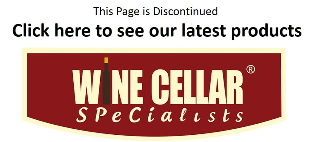 Discontinued Page - Wine Cellar Specialists