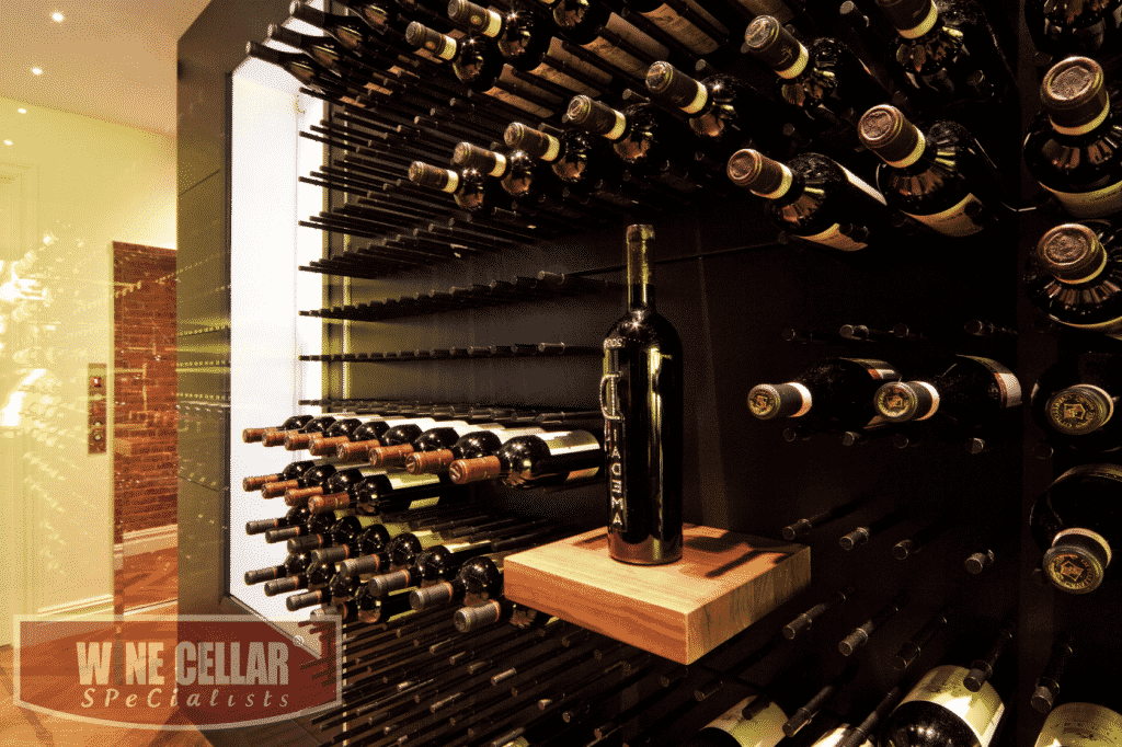 Ultra Modern Peg System Wine Racking