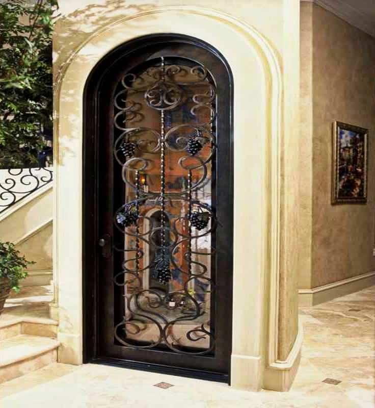 Custom Wine Cellar Door by Wine Cellar SPecialists