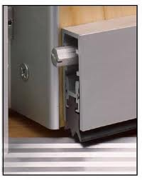 Automatic Door Bottoms - Custom Wine Cellar Doors