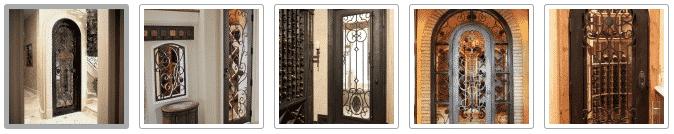 Custom Wine Cellar Doors by Wine Cellar SPecialists