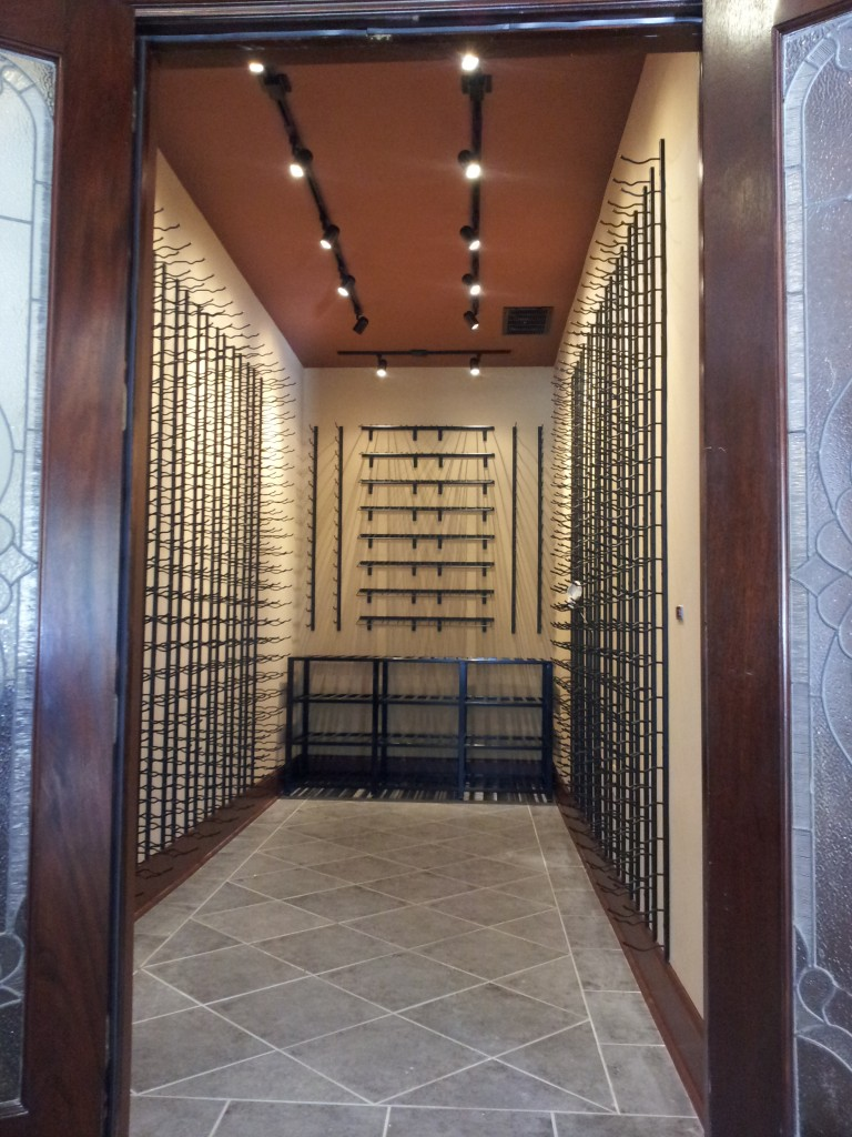 From a Smoking Room to a Contemporary Wine Cellar Atlanta GA
