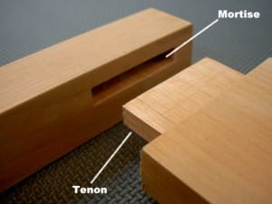 Mortise and Tenon for Wine Room Doors