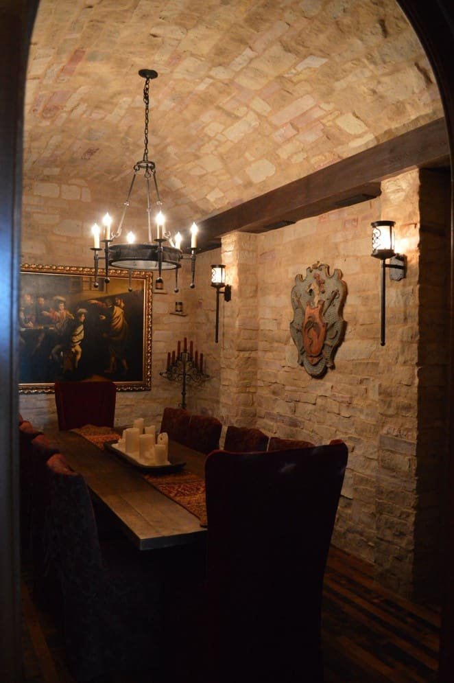 Florida Wine Cellar Tasting and Entertainment Room - Naples Project