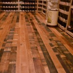 Wine Cellar Flooring also from Reclaimed Wine Barrels