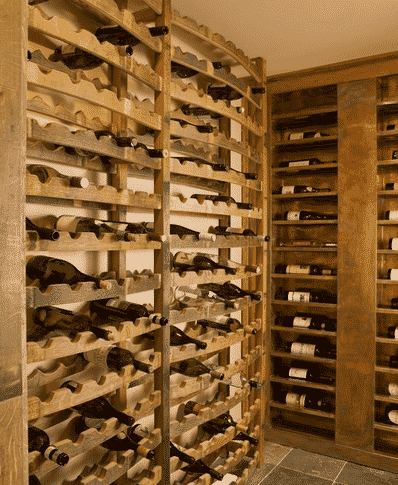 Reclaimed Wine Barrel Racks