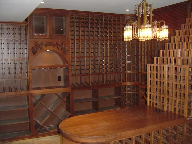 refrigerated wine cellar Texas