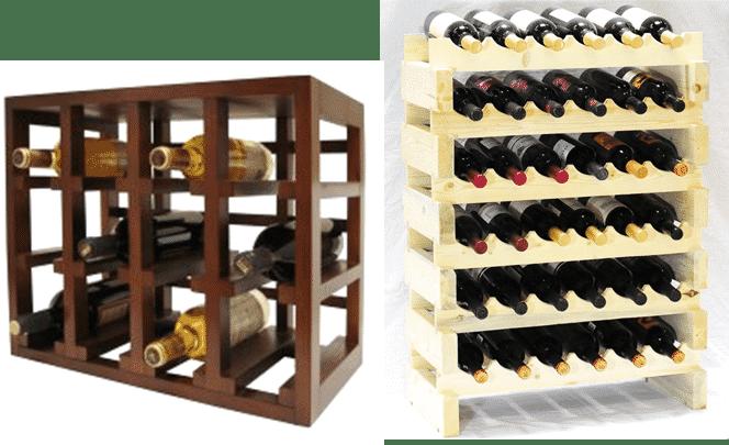 stackable wine rack plans