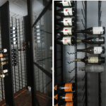 Vintage View Wine Racks Installed in Dallas, Texas Custom Wine Cellar