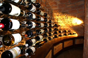 23. VintageView Wine Cellar, Metal with Wood Coppel TX Project