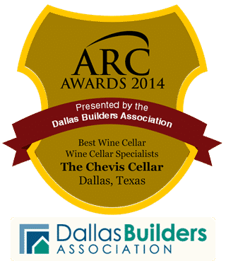 2014 Building Excellence Best Wine Cellar Dallas Builders Association