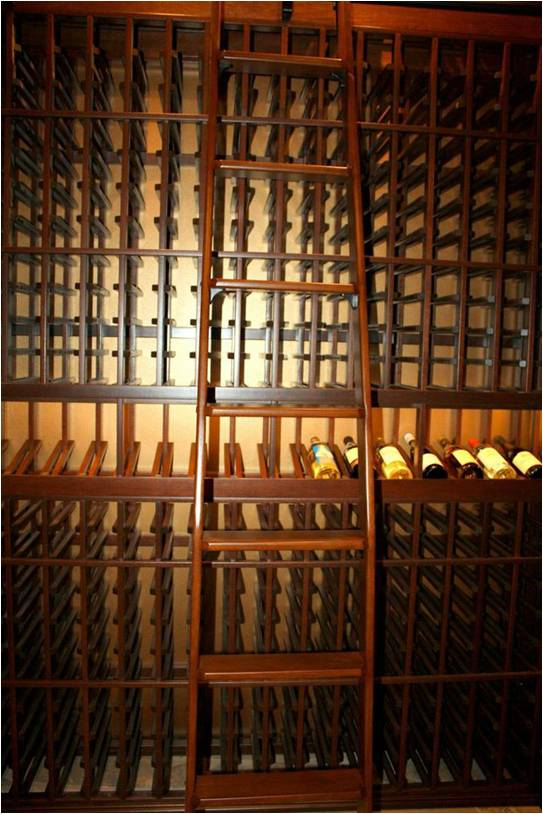 View the different wine rack options.
