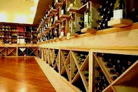 Commercial Custom Wine Cellar