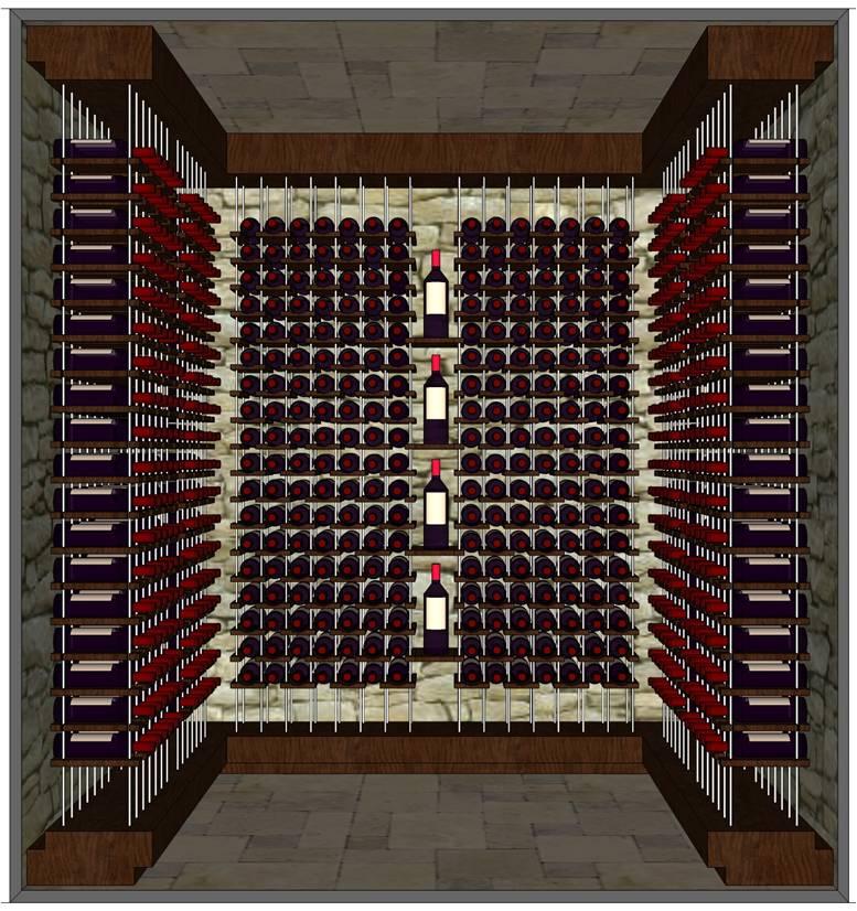 Request a 3D Custom Wine Cellar Design for FREE!