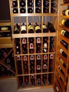 8. Residential Wine Cellar Dallas Texas Wine Closet