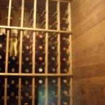 Individual Wine Racking Tongue & Groove Joints for Stability Wine Cellar Texas