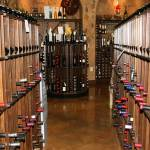 Commercial wine racks isle view bistro de la reine louisiana