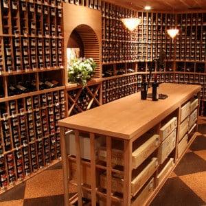 18. Goldberg Wine Cellar