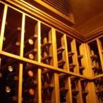 View showing Standard 750ml Wine Racking