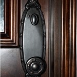 11. Inside Wine Cellar Door Knob for Texas Room