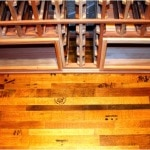 13. Texas Wine Barrel Flooring by Wine Cellar Specialists