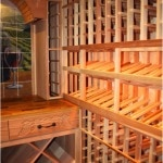 35. Wood Wine Racks In Colleyville, Texas
