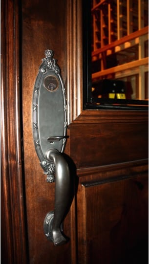 5. Wine Cellar Door Handle-French Colonial