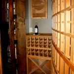 6 Texas Trophy Club Wine Racks Full left end view