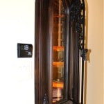 6. Wine Cellar Door with Operable Iron in Colleyville, Texas