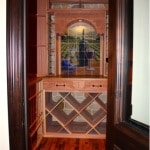 7. Custom Doorway of Wine Cellar in Colleyville, Texas
