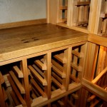 8 Reclaimed wine barrel cellar tabletop
