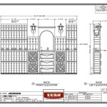Design Drawing Minnesota Residential Home Wine Cellar Project