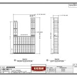 Elevation Drawings Minnesota Minneapolis Home Wine Cellar Project
