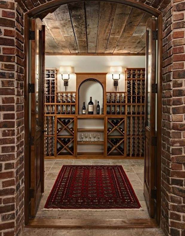 Minneapolis Home Wine Cellar Storage Designs Ideas