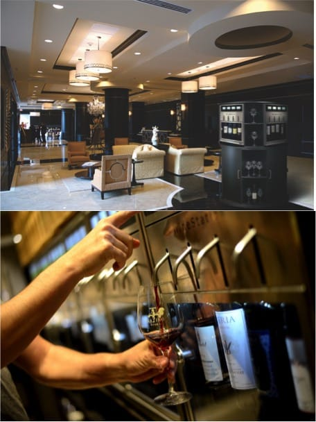 Commercial WineStation Dispensers for Hotels and Restaurants