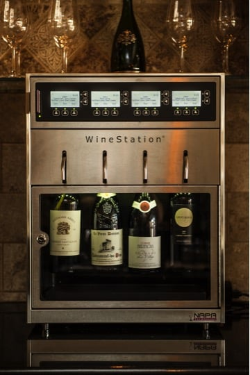 An Intelligent Wine Dispensing System by Napa Technology