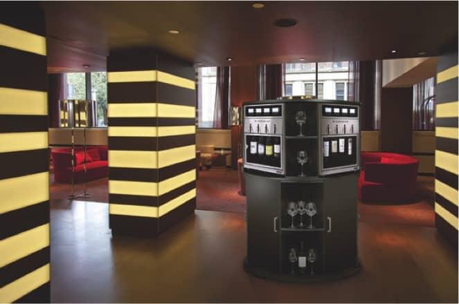 Wine Station Premier PLUS in a luxury hotel.