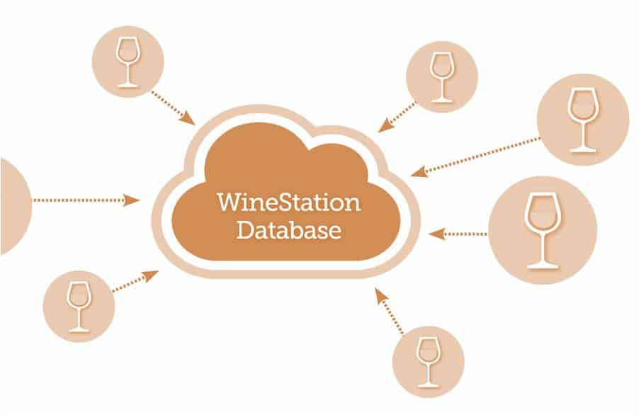 WineStation dispensing system database