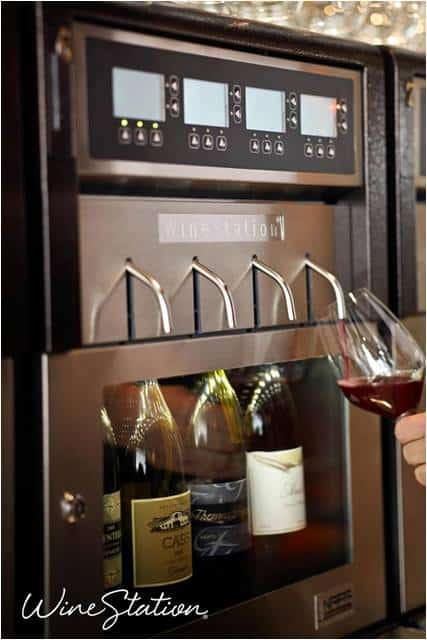home WineStation dispensing system
