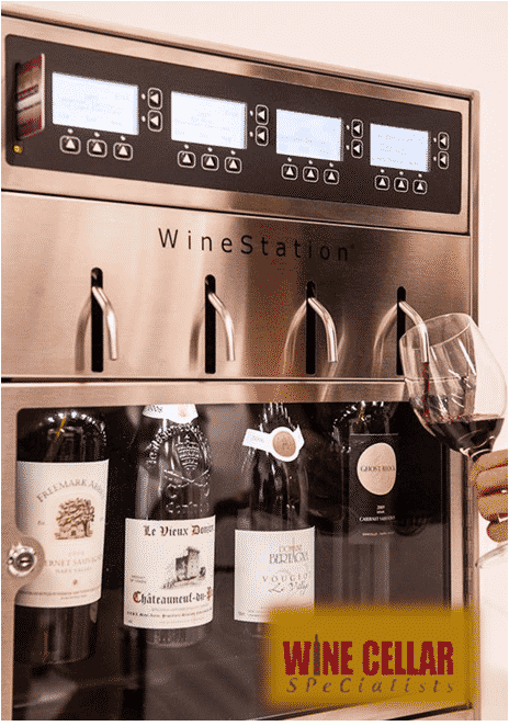 wine by the glass wine dispensing system