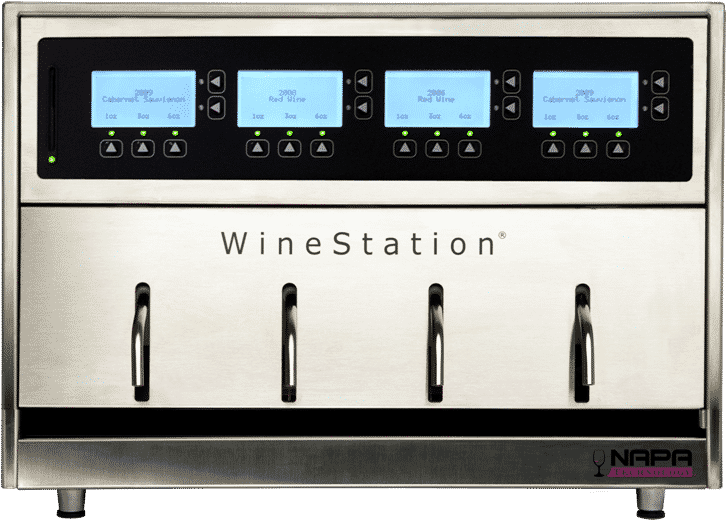 winestation wine dispensing system volumes