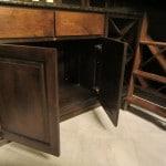 New Orleans Wine Cellar Cabinet Doors