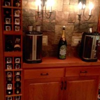 9 - The Corking Station for Basement Wine Cellar