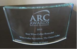 2012 ARC Award Won by Wine Cellar Specialists